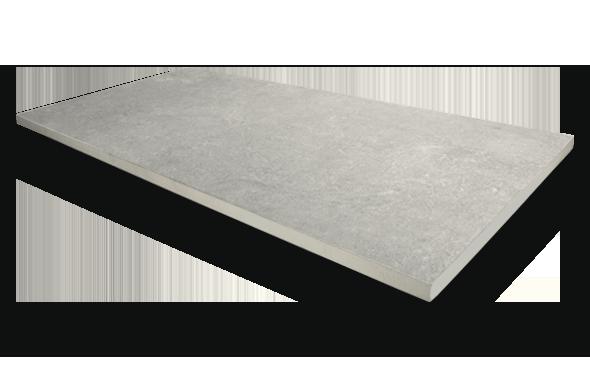 20mm Stoneware Silver Detail