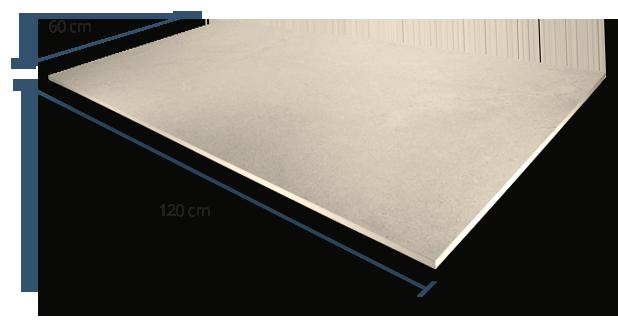 10mm Luxstone Sand Dimensions