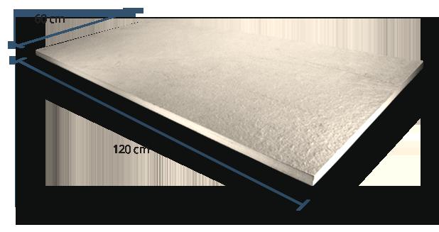 20mm Luxstone Sand Dimensions