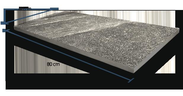 20mm Siena Basalt Dimensions