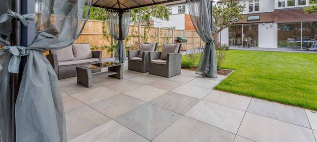 quartz twilight seating area