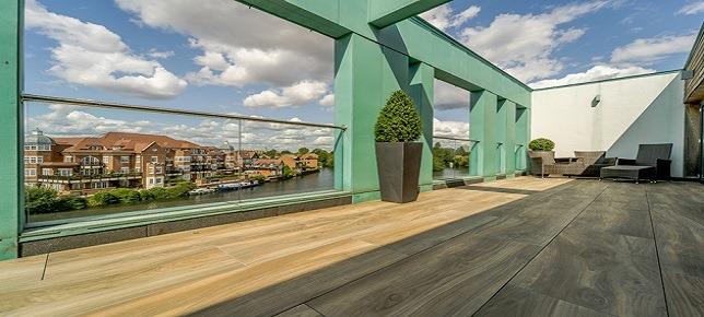 Rooftop paving in Windsor