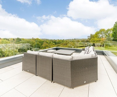 Paved Terrace in Dodford