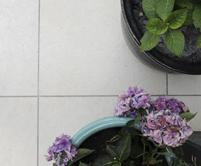 Garden paving design project