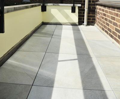 Roof terrace tiles Barnet