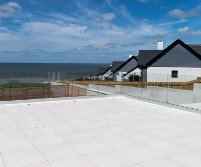 Patio on the South Wales Coast