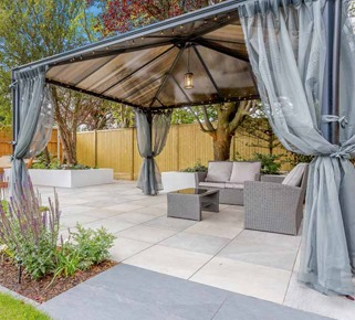 covered quartz twilight patio