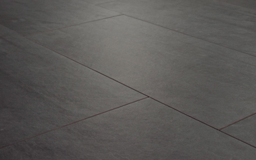 Dark patio tiles