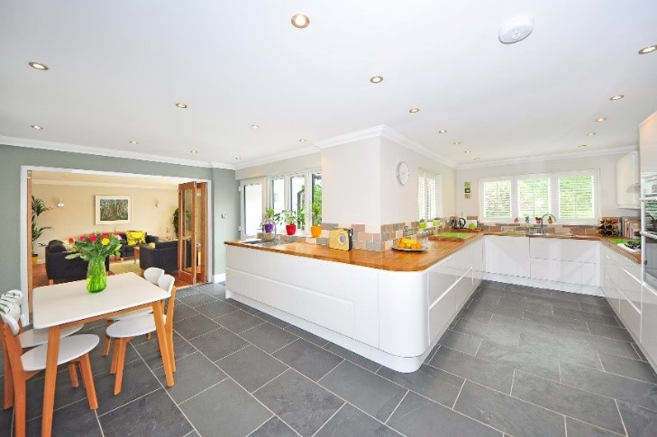 Large Kitchen Floor Tiles