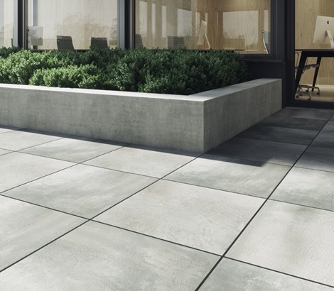 is porcelain tile good for patio