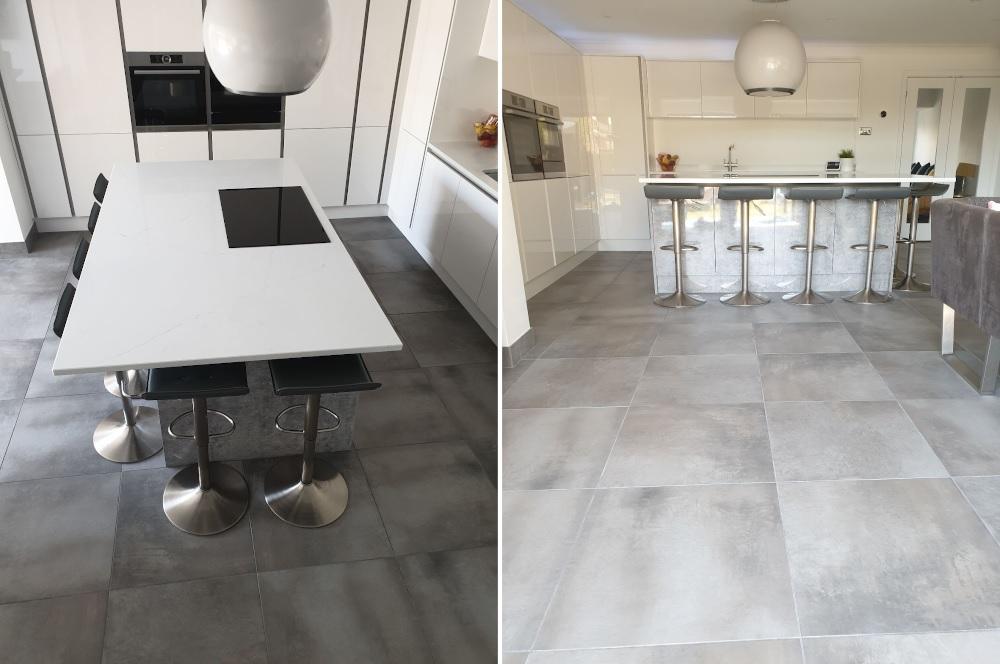 Bolzano Grey kitchen tiles